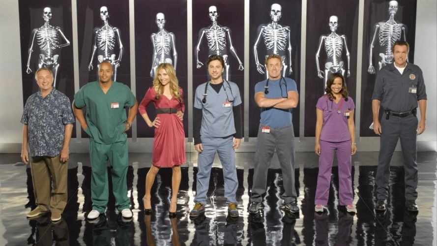 SCRUBS comedy drama series medical (35) wallpaper