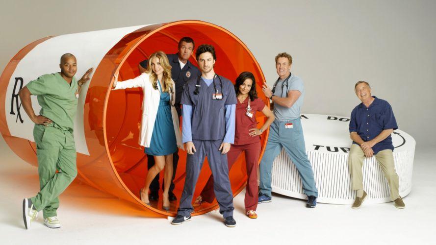 SCRUBS comedy drama series medical (52) wallpaper