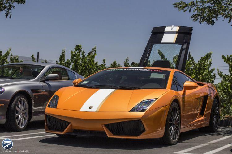 Lamborghini Gallardo LP 550-2 Valentino Balboni Italian Dreamcar Supercar Exotic orange arancione wallpaper