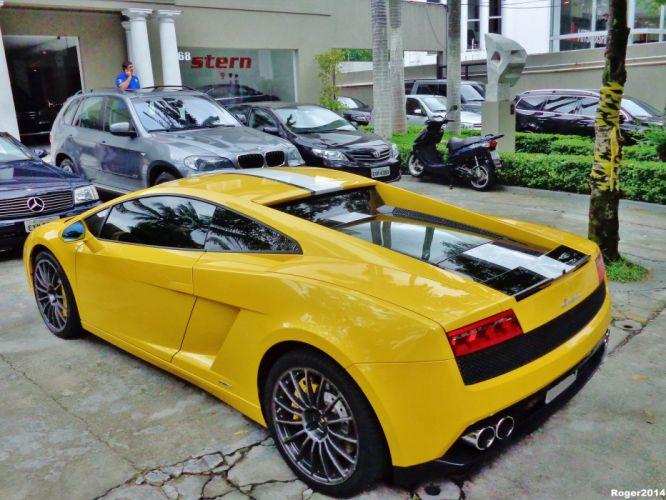 Lamborghini Gallardo LP 550-2 Valentino Balboni Italian Dreamcar Supercar Exotic jaune giallo yellow wallpaper