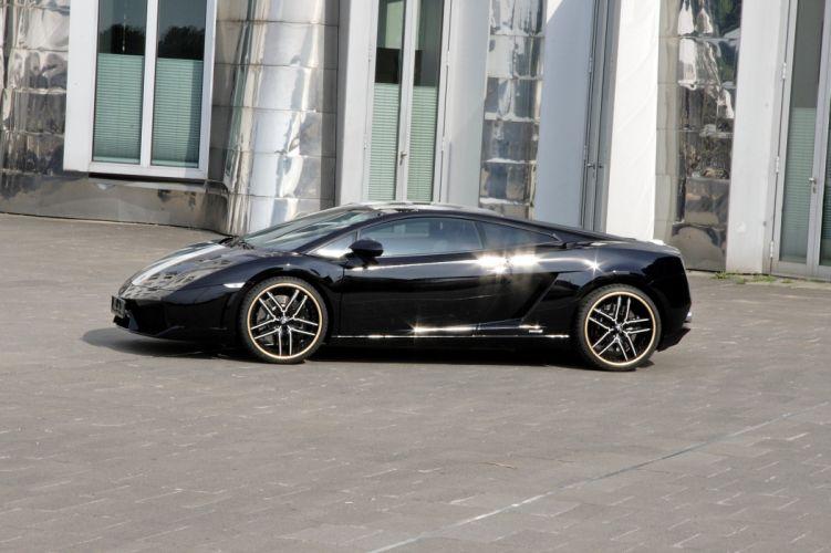 Lamborghini Gallardo LP 550-2 Valentino Balboni Italian Dreamcar Supercar Exotic black nero blanche wallpaper