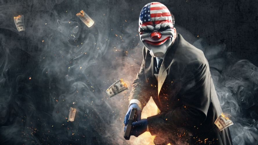 PAYDAY action co-op shooter tactical stealth crime wallpaper