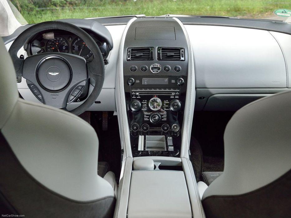 2014 Aston Martin n430 v 8 vantage coupe supercars england interior wallpaper