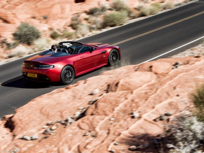 2014 Aston england Martin roadster Supercar v12 vantage s wallpaper