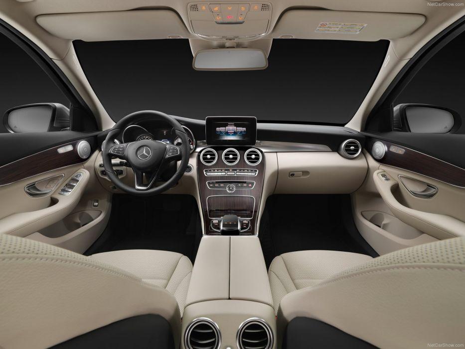 1204 Mercedes C-Classe c Estate break blue marron bleue brown ...