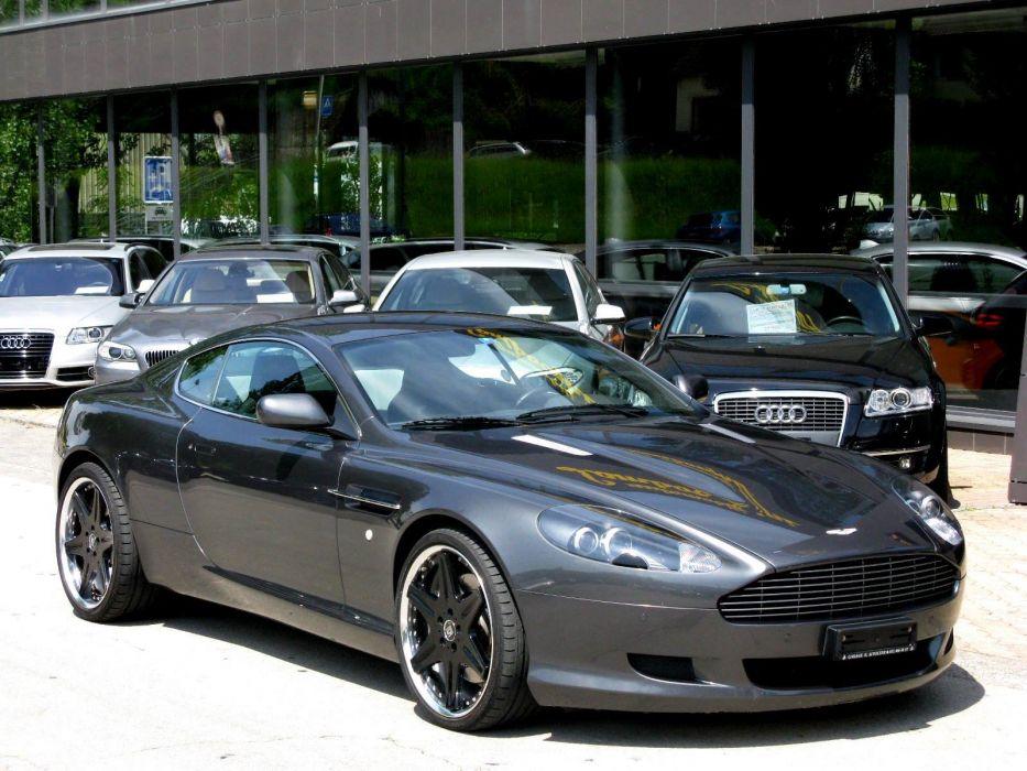 Aston DB9 Martin supercar wallpaper