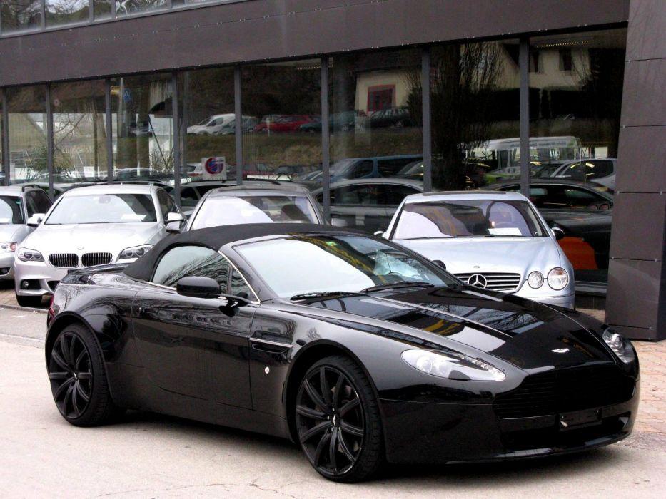 Aston Martin Supercar v8 vantage vantage convertible roadster cabriolet  wallpaper