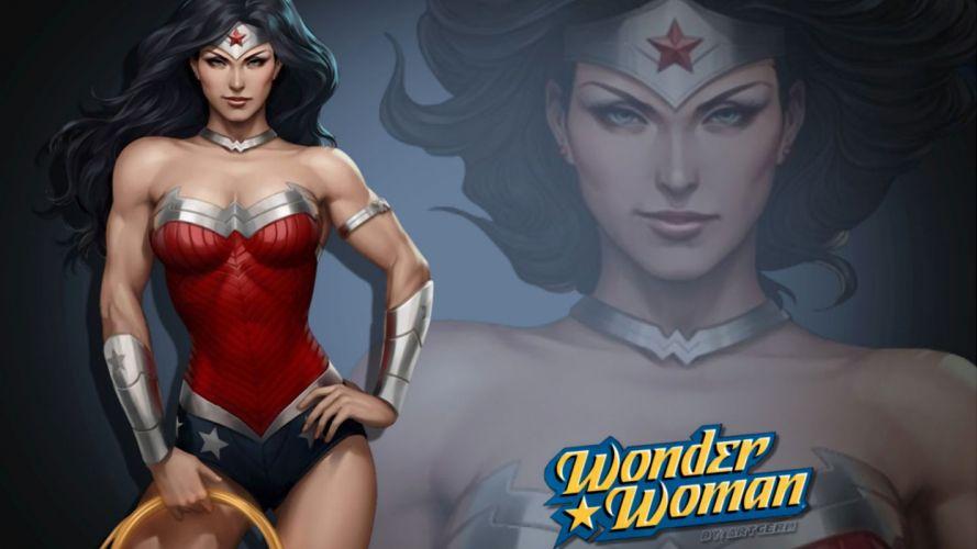 Wonder Woman - artgerm wallpaper