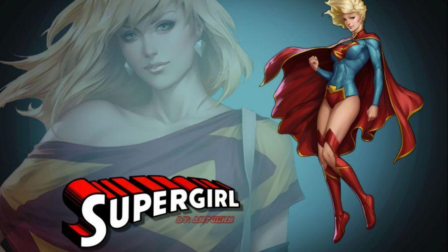 Supergirl - artgerm wallpaper