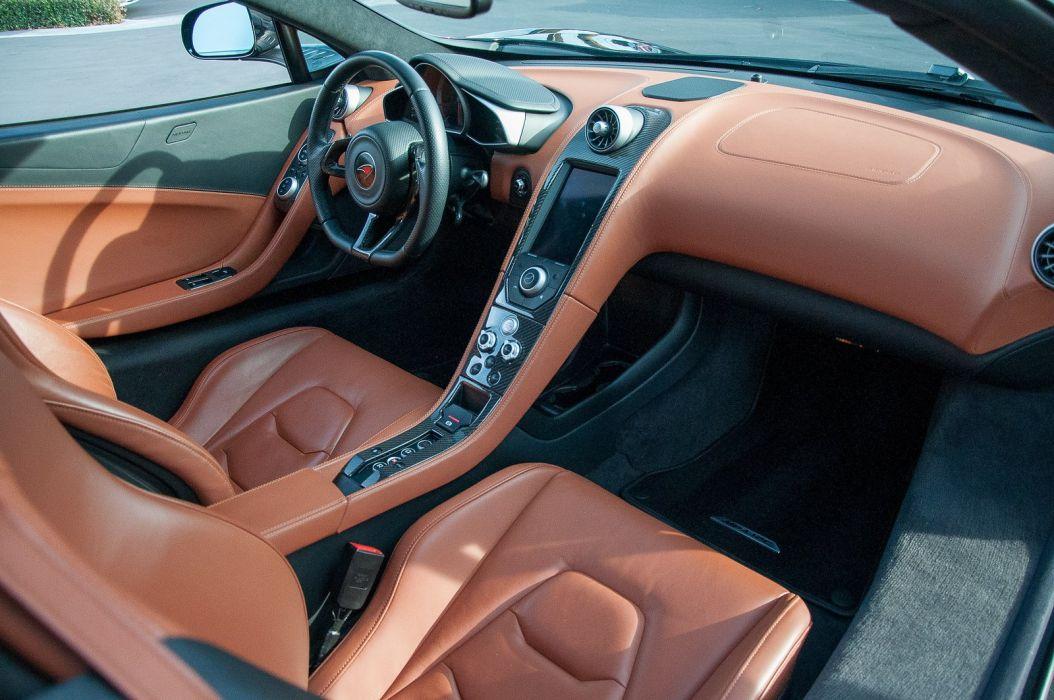 12c McLaren mp4 Supercar color Carbon Black 430 wallpaper