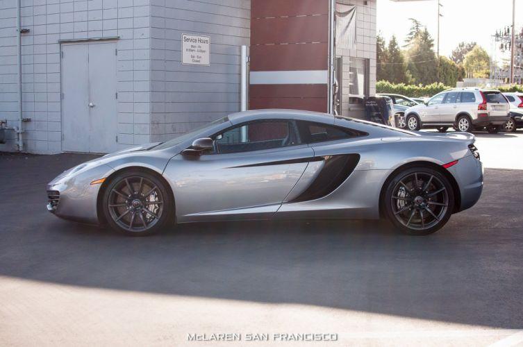 12c McLaren mp4 Supercar color Titanium Silver 340 wallpaper