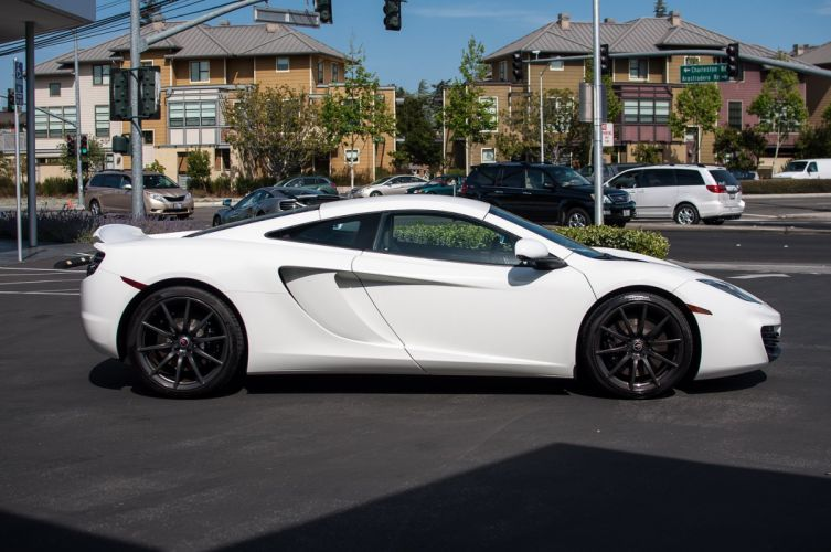 12c McLaren mp4 Supercar color White 494 wallpaper