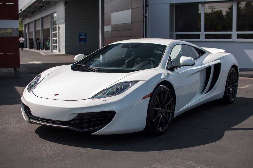 12c McLaren mp4 Supercar color White 494 wallpaper