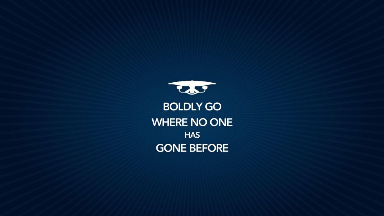 Boldly Go - Star Trek wallpaper