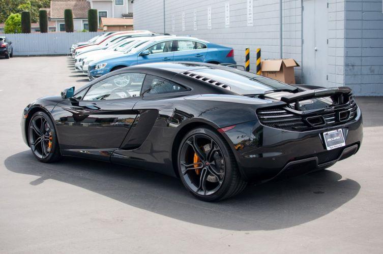 12c McLaren mp4 Supercar color Carbon Black 1753 wallpaper