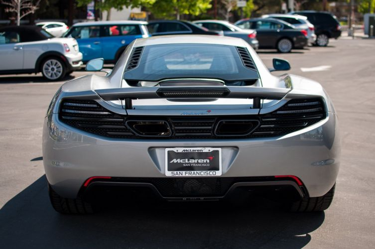 12c McLaren mp4 Supercar color Titanium Silver 709 wallpaper