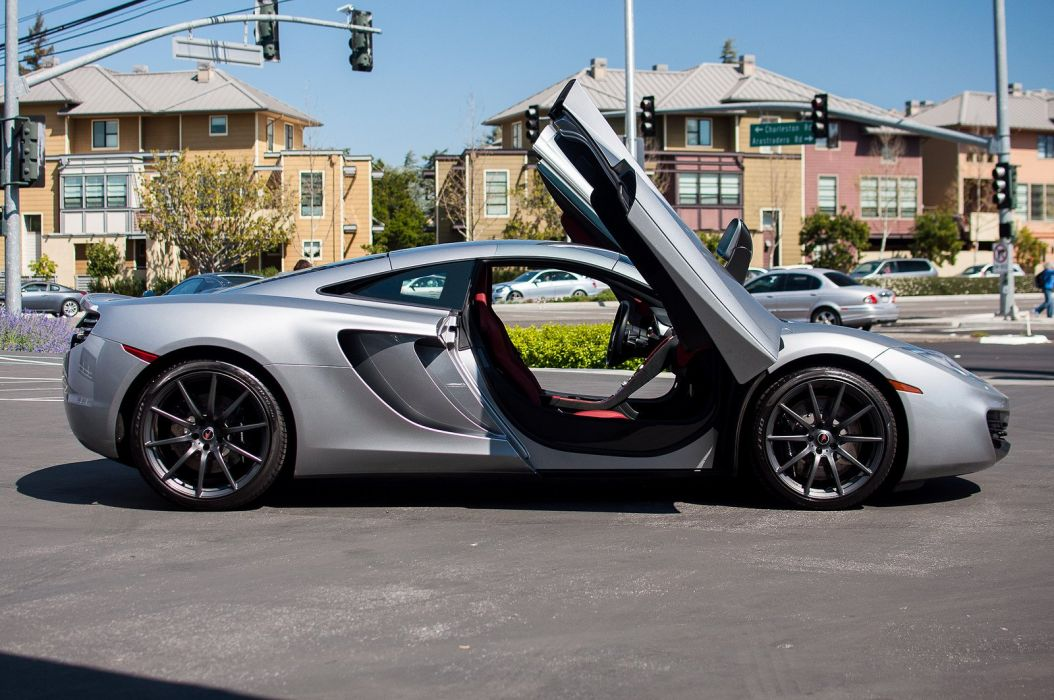 12c McLaren mp4 Supercar color Titanium Silver 709 wallpaper