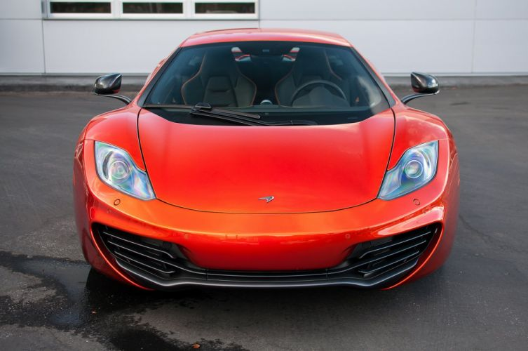 12c McLaren mp4 Supercar color Volcano Orange 1827 wallpaper
