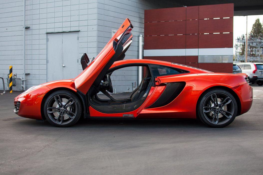 12c McLaren mp4 Supercar color Volcano Orange 1827 wallpaper