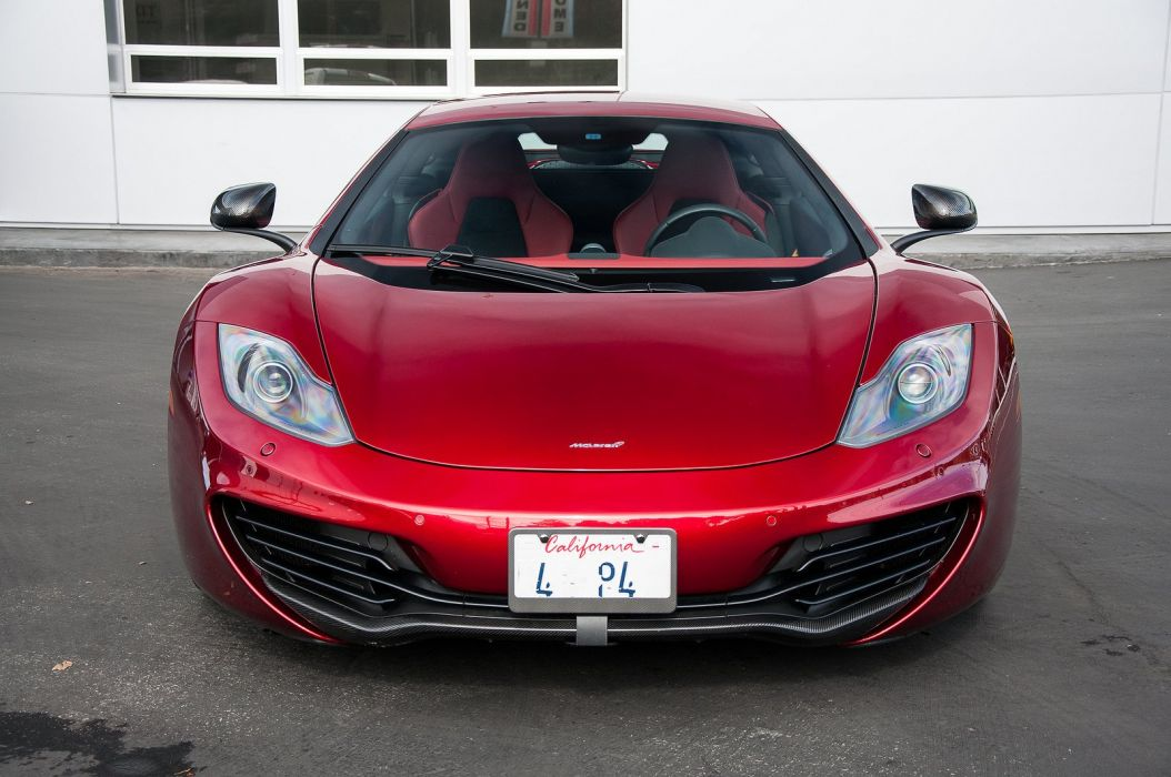 12c McLaren mp4 Supercar color Volcano Red 284 wallpaper