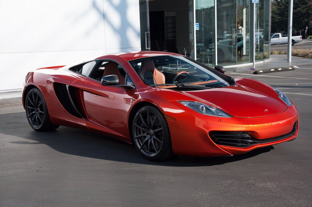 12c McLaren mp4 Supercar color Volcano Orange 231 wallpaper