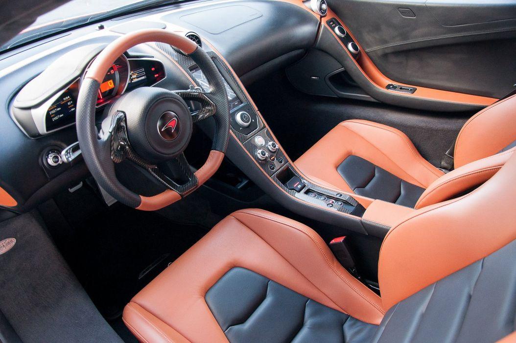 12c McLaren mp4 Supercar color Volcano Orange 231 wallpaper