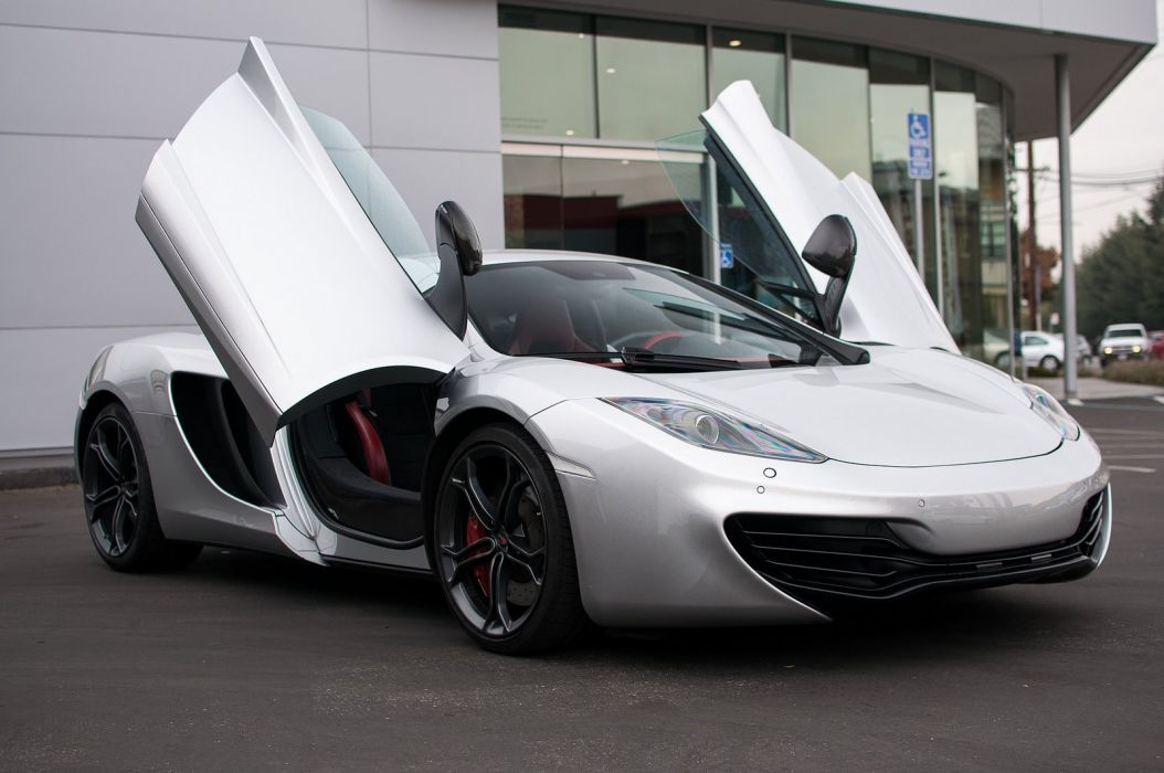 12c McLaren mp4 Supercar color Supernova Silver 183  wallpaper
