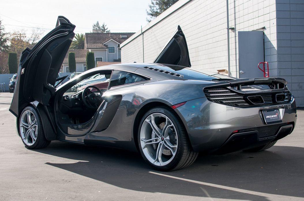 12c McLaren mp4 Supercar color Graphite Grey 282 wallpaper