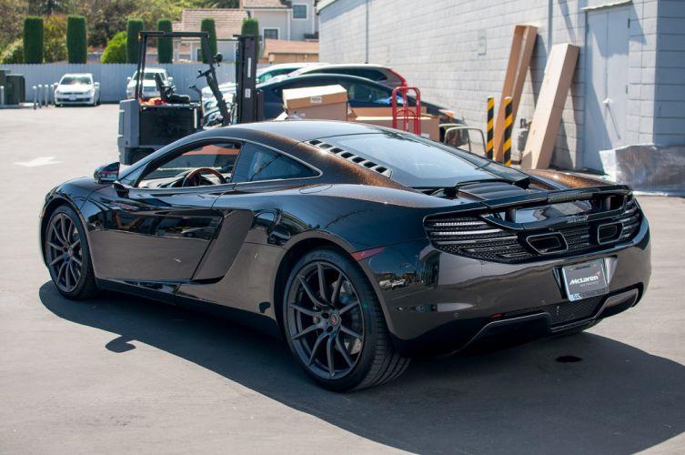 12c McLaren mp4 Supercar color Fire Black 333 wallpaper