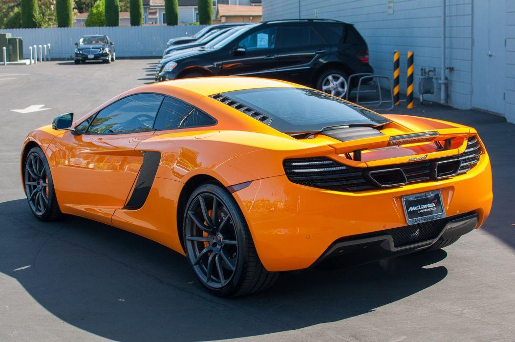 12c McLaren mp4 Supercar color Orange 303 wallpaper