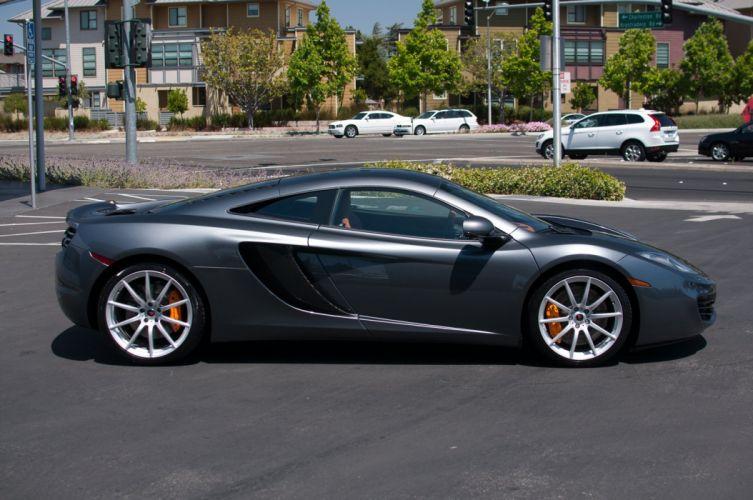 12c McLaren mp4 Supercar color Graphite Grey 1017 wallpaper