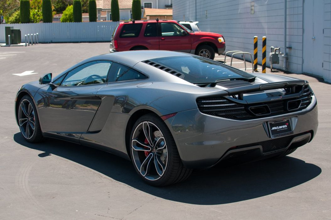 12c McLaren mp4 Supercar color Graphite Grey 1895 wallpaper