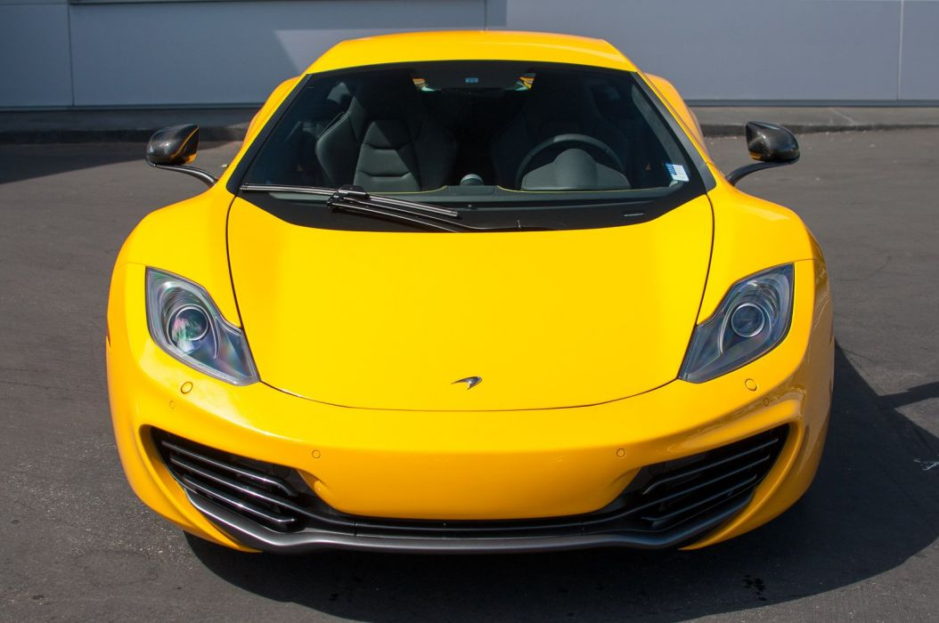 12c McLaren mp4 Supercar color Volcano Yellow 2315 wallpaper