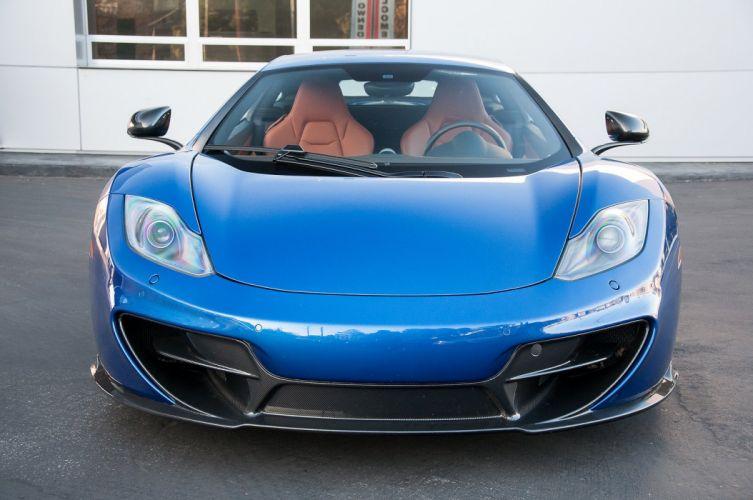 12c McLaren mp4 Supercar color Azure Blue 1398 wallpaper