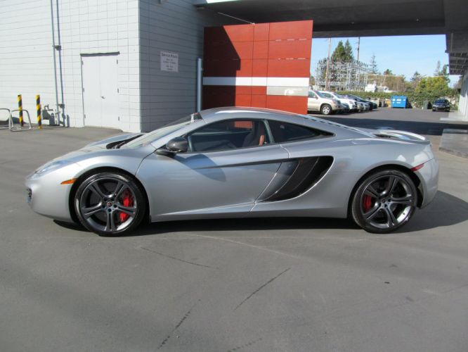 12c McLaren mp4 Supercar color Titanium 729 wallpaper