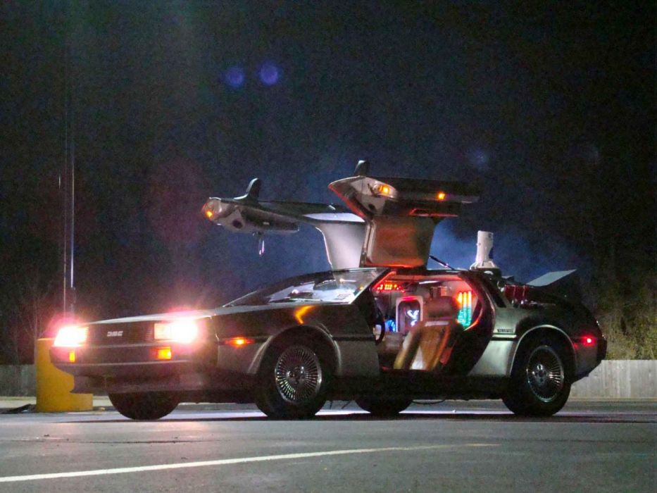 Back To The Future Delorean wallpaper
