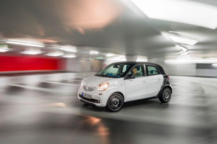 2014 Coupe smart forfour 4 doors wallpaper car wallpaper