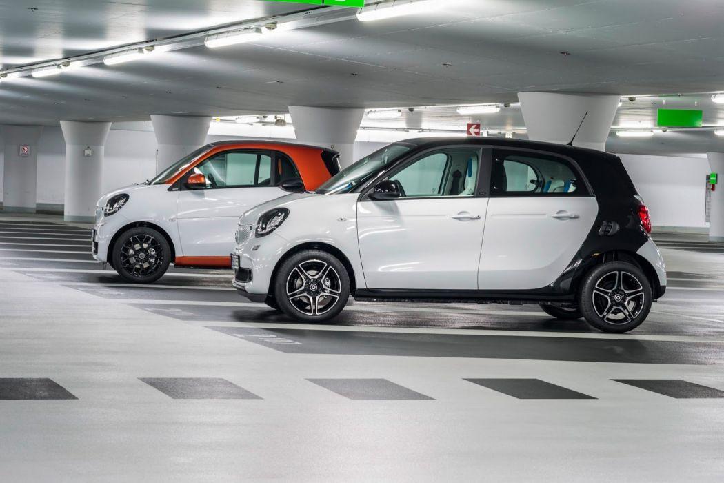 2014  smart forfour 4 doors wallpaper car wallpaper