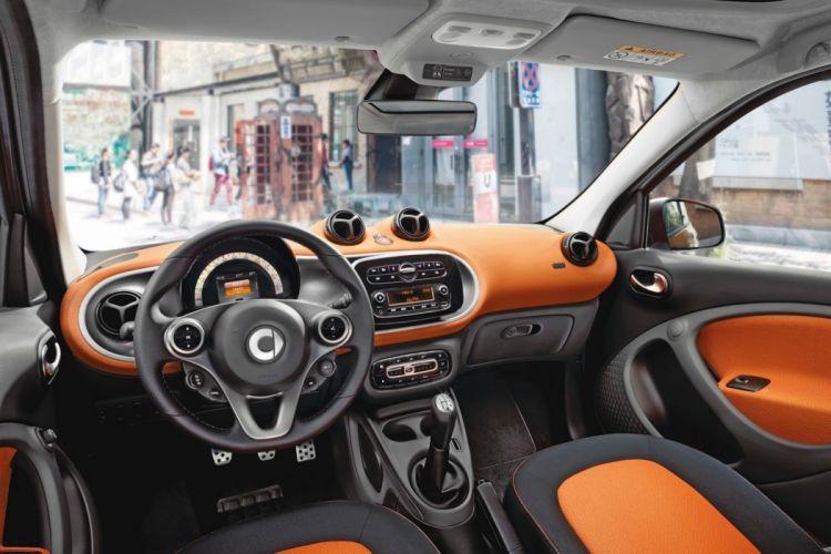 2014 smart fortwo forfour interior wallpaper car wallpaper