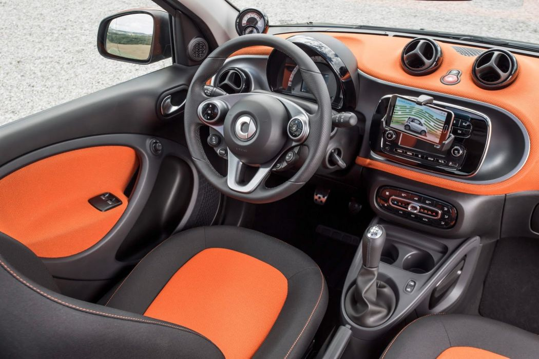 2014 smart fortwo forfour interior wallpaper car wallpaper