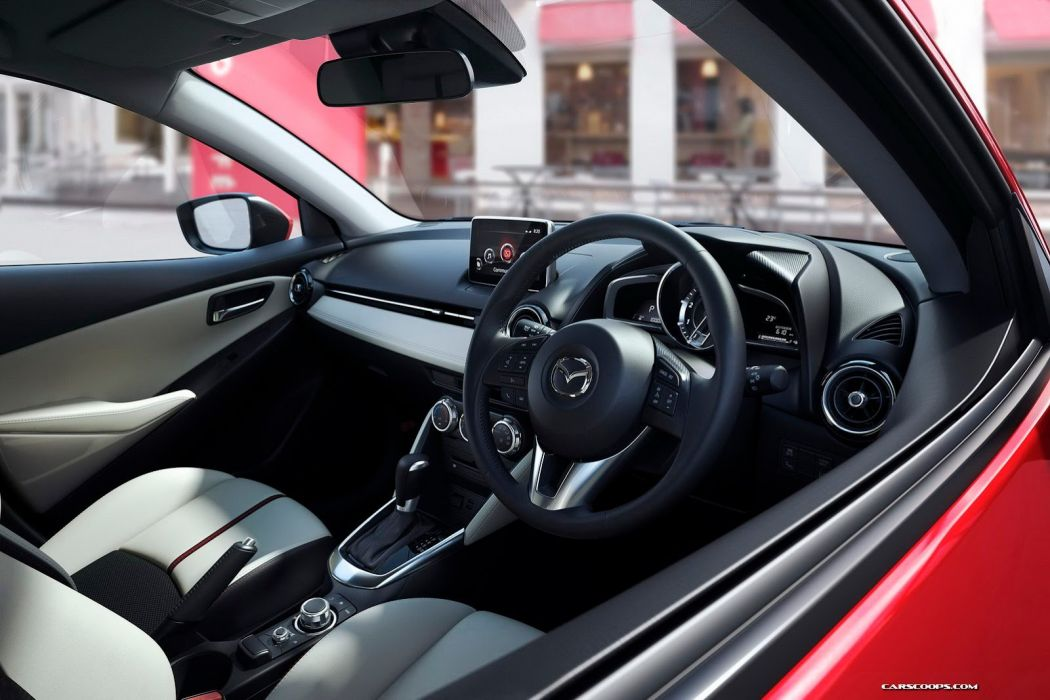 2014 mazda2 4 doors compact japan car interior wallpaper