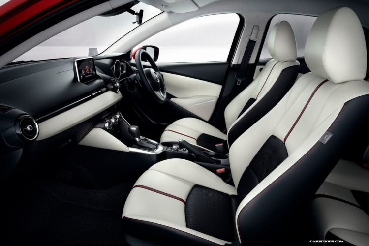 2014 mazda2 4 doors compact japan car interior wallpaper