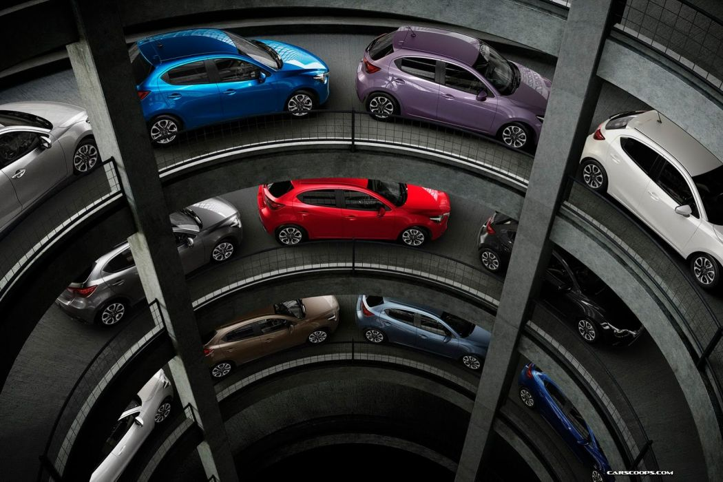 2014 mazda2 4 doors compact japan car wallpaper