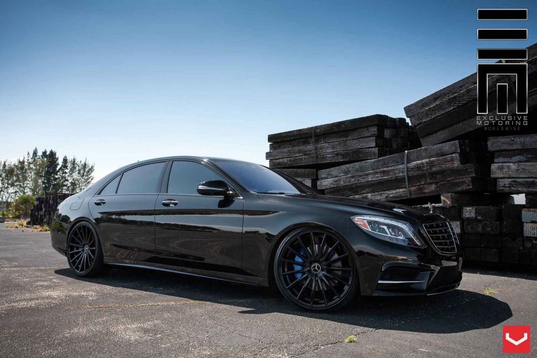 Mercedes  S Class vossen wheels tuning germany wallpaper