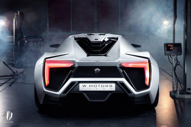 Motors Lykan HyperSport concept car Dreamcar Supercar Exotic Sportscar wallpaper