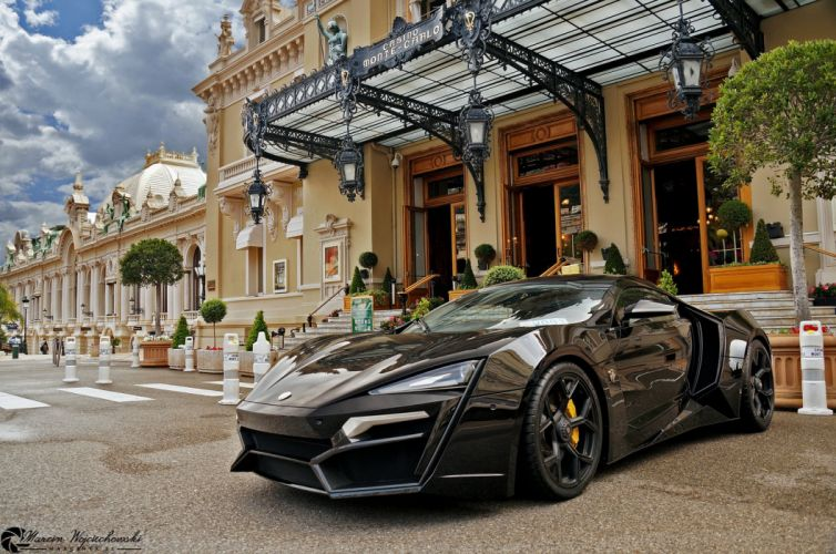 Motors Lykan HyperSport concept car Dreamcar Supercar Exotic