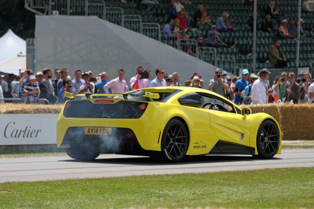 Arash AF8  Dreamcar Supercar Exotic  Sportscar jaune wallpaper
