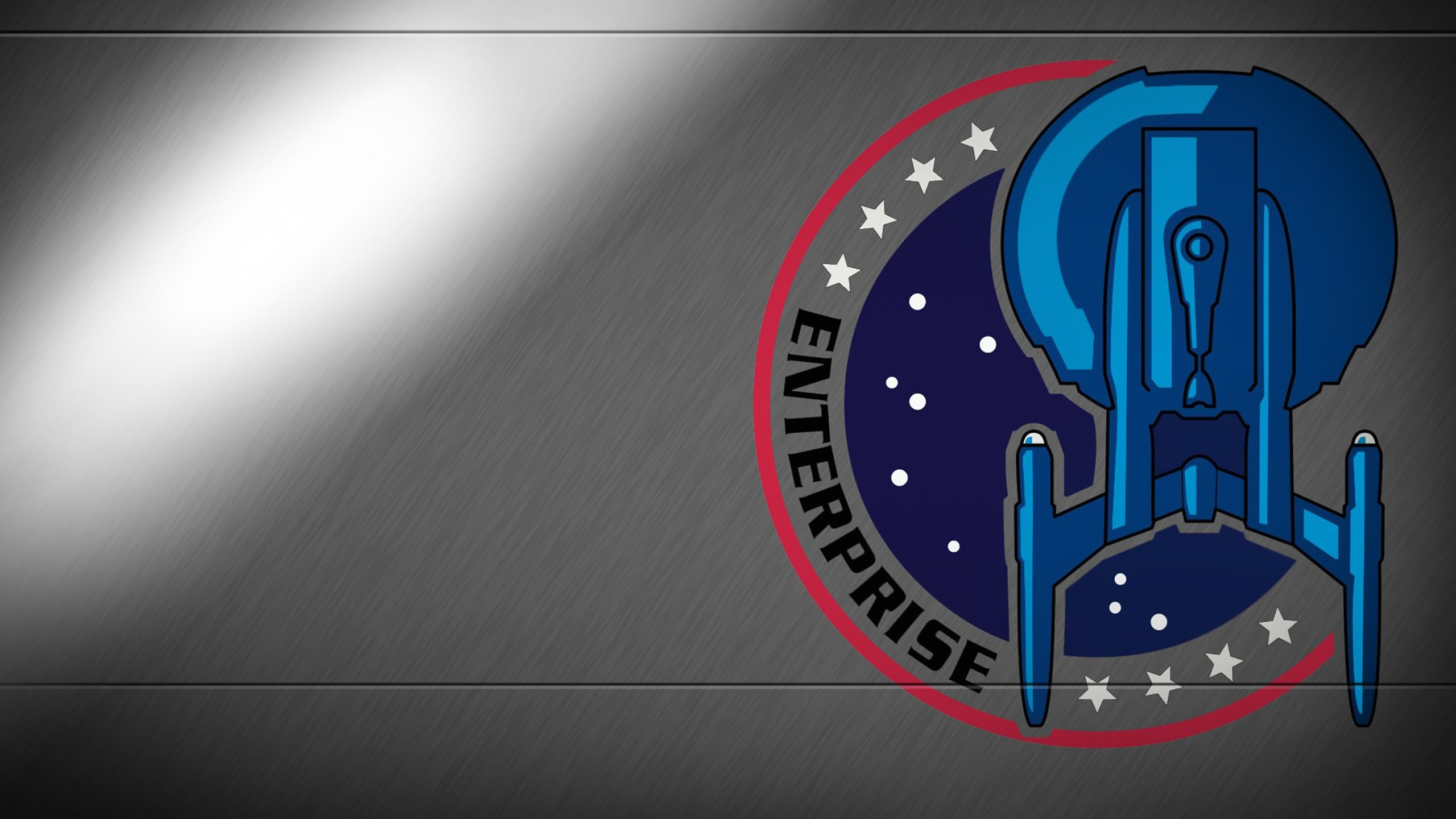 Star trek enterprise logo wallpaper 2560x1440 397828 - Star trek symbol wallpaper ...