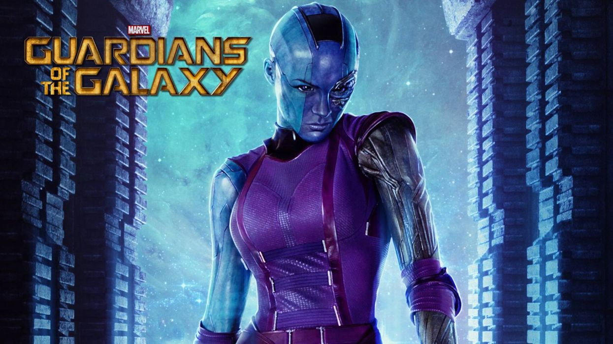 Marvel Guardians of the Galaxy - Nebula wallpaper