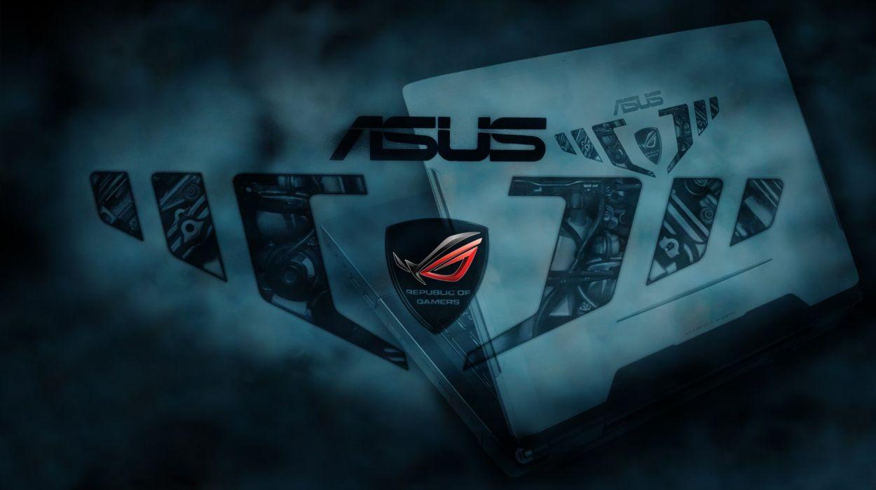 ASUS REPUBLIC GAMERS computer game wallpaper